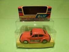 BANDAI DAPPER 15 VW VOLKSWAGEN BEETLE1303S - ORANGE RARE - NEAR MINT IN BOX