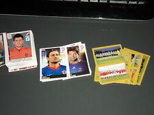 130 FIGURINE CALCIATORI  PANINI  EURO 2008 EURO 2012 ANNO 2007 08 TUTTE DIVERSE