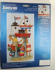 """Janlynn """"Ocean Front Property"""" Counted Cross Stitch Kit"""