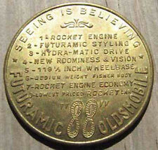 ORIGINAL NOS 1949 OLDSMOBILE 88 ADVERTISING TOKEN or MEDAL L@@K #402
