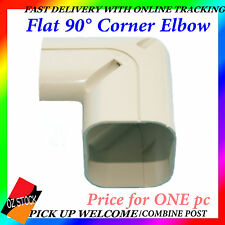 Air Conditioner Flat 90° Corner Elbow Connector Sturdy Anti-Corrosion Ducting C7