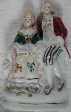 1950's Fancy Man & Lady Figurine~Made in Occupied Japan