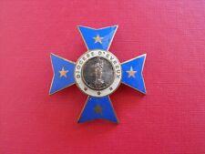 N°22 insigne diocèse religieux médaille pèlerinage Notre Dame de Lourdes Evreux