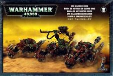 Games Workshop - Warhammer 40k - Orks - Ork Warbiker Mob