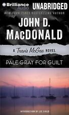 Travis Mcgee Mysteries: Pale Gray for Guilt 9 by John D. MacDonald (2013, CD,...