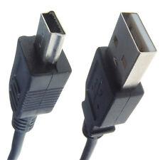 De datos USB Sync transferencia imagen Lead Cable para Sony Handycam dcr-sr57
