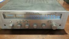 Vintage Marantz Stereo Receiver Model 1515 AM/FM Silver Faced Working GOOD