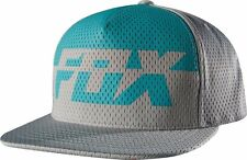 "NWT MEN'S FOX ""IDENTIFIED"" SNAPBACK ADJUSTABLE HAT/CAP LIGHT GREY SIZE:ONE SIZE"