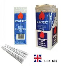 NEWPORT 150 mm PIPE CLEANERS Craft Art White Chenille Sticks Stems 50 PACK