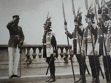Budapest Hungary Admiral Horthy Royal Palace Bodyguards 1934 Photo Article 8652