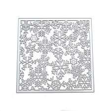 Metal Snowflak Christmas Cutting Dies DIY Scrapbook Album Paper Card Embossing