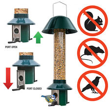 Squirrel proof bird feeder - Stops large birds and rats - Mixed Seed - PestOff