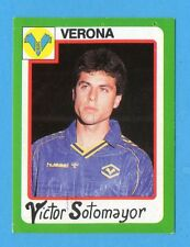 EUROFLASH CALCIO 90 -Figurina n.295- SOTOMAYOR - VERONA -NEW