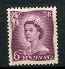 New Zealand 1955-9 SG#750, 6d QEII Definitives MNH #A42539