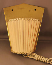 sehr alte Wand Leuchte Lampe old wall lamp Messing brass 50er Jahre Mid Century