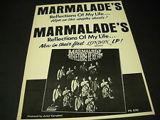 MARMALADE is High On The Charts with REFLECTIONS OF MY LIFE 1970 Promo Poster Ad