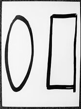 ELLSWORTH KELLY - ANCIENT SYMBOLS #1 - LITHOGRAPH - 1964 - FREE SHIP IN US !