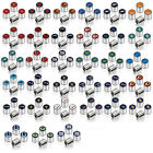 Promark New NFL All Teams Car Truck SUV Van Chrome Finish Tire Valve Stem Caps