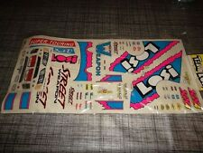 VINTAGE LOSI A-8330 SW stickers STREET WEAPON