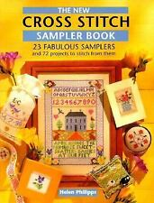 The New Cross Stitch Sampler Book-ExLibrary