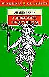 A Midsummer Night's Dream (The World's Classics) by Shakespeare, William