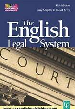 The English Legal System by Gary Slapper, David Kelly (Paperback, 2003)