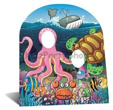 Under the Sea Party - Giant Cardboard Cutout 117cm - Free Postage Uk