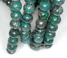 """12MM GREEN IRON PYRITE INCLUSIONS GEMSTONE GRADE A ROUND 12MM LOOSE BEADS 7.5"""""""