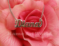 Name Necklace,made with stainless steel - High polished and no rust or tarnish.