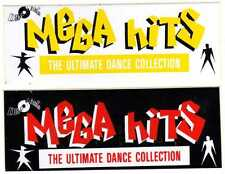 ADESIVO-MEGA HITS-THE ULTIMATE DANCE COLLECTION-NUOVI ORIGINALE D'EPOCA