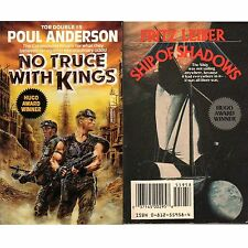 NO TRUCE WITH KINGS Poul Anderson PB Tor Dbl 1989 + SHIP OF SHADOWS Fritz Leiber