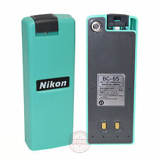 NIKON BC-65 BATTERY FOR TOTAL STATION, SURVEYING, BC65, DTM,NPL,NPR,Q75E