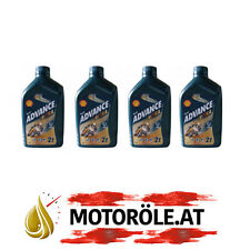 4 L Liter Shell Advance Ultra 2T vollsyn 2-Takt Mischöl