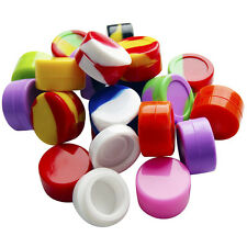 10Pcs/Set 5ML Silicone dab Wax Concentrate Shatter Oil Container