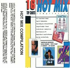HOT MIX COMPILATION 16 Top Charts MC rara cassetta audio tape stereo Dance Tecno