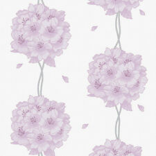 Purple Wallpaper Ideas Flower Self Adhesive Vinyl Contact Paper Wall Covering