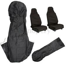 2x Front Car Seat Cover Protector Interior Decor Waterproof Nylon Auto Truck SUV