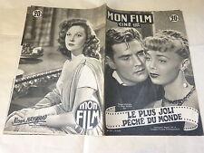 MARCHAL & ROBIN - HAYWARD - Magazine vintage MON FILM n°276 !!!