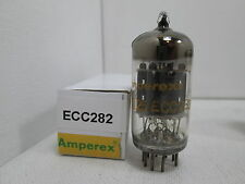 RARE Amperex (MULLARD MADE) ECC282 7025 (12AX7) SQ Vacuum Tube TESTED #8.1825