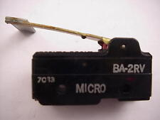 Honeywell Micro Switch BA-2RV    Ships on the Same Day of the Purchase