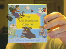 THE JULIA DONALDSON COLLECTION ON 10 CDS CHARITY GREAT GIFT!