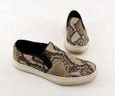 Slipper zara ocio zapato bajo cuero auténtico beige marrón talla 38