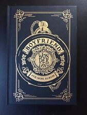 BOYFRIEND 4th Kpop Mini Album 'WONDERLAND' CD + Photobook + Photocard