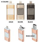 3 IN 1 USB i-Flash Drive Memory Stick U Disk for iPhone Samsung CELL PHONE 32GB