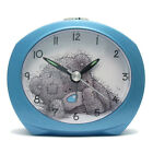 Me To You Alarm Clock Blue Tatty Teddy 'No Tick' Snooze MTYCLK15A