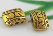 30pcs Tibetan Gold Connectors Findings 11x8mm  (Lead-free)