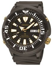 New Seiko SRP641 Prospex Automatic Divers Black Rubber Strap Men's Watch
