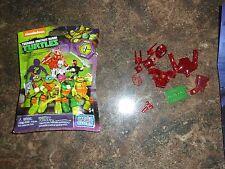 Mega Bloks  Teenage Mutant Ninja Turtles Ultra Rare Red Shredder Figure