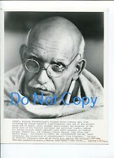 Ben Kingsley The Making Gandhi Original Movie Press Still Glossy Photo