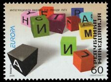 "MACEDONIA 369 - Europa Pastimes ""Coloured Blocks"" (pa79719)"